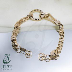 دستبند طلایی آدینه